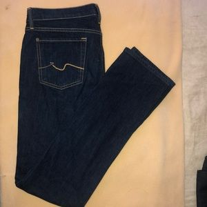 7 For all mankind jeans; size 29